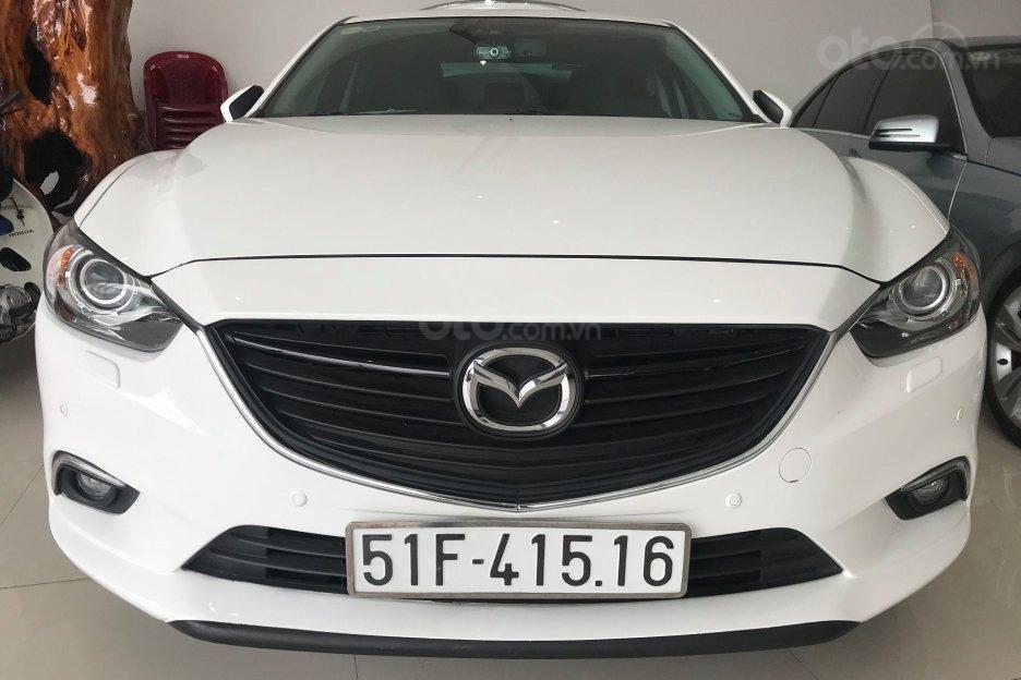 Cần bán gấp Mazda 6 LX đời 2016, màu trắng, giá 780tr-0