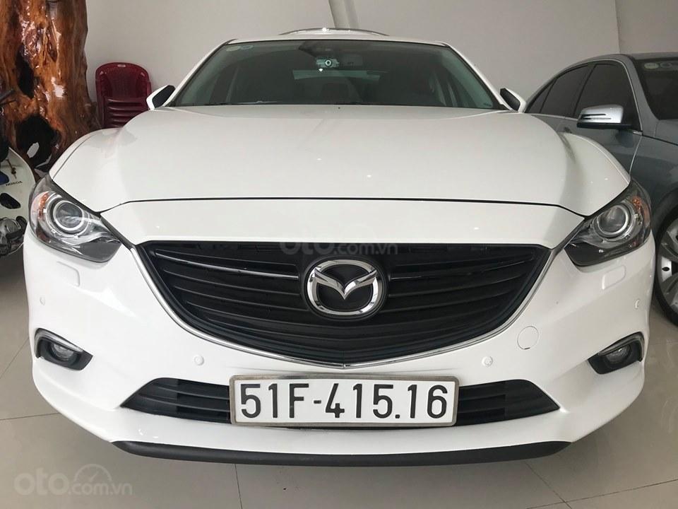 Cần bán gấp Mazda 6 LX đời 2016, màu trắng, giá 780tr-5