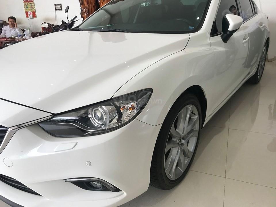 Cần bán gấp Mazda 6 LX đời 2016, màu trắng, giá 780tr-3
