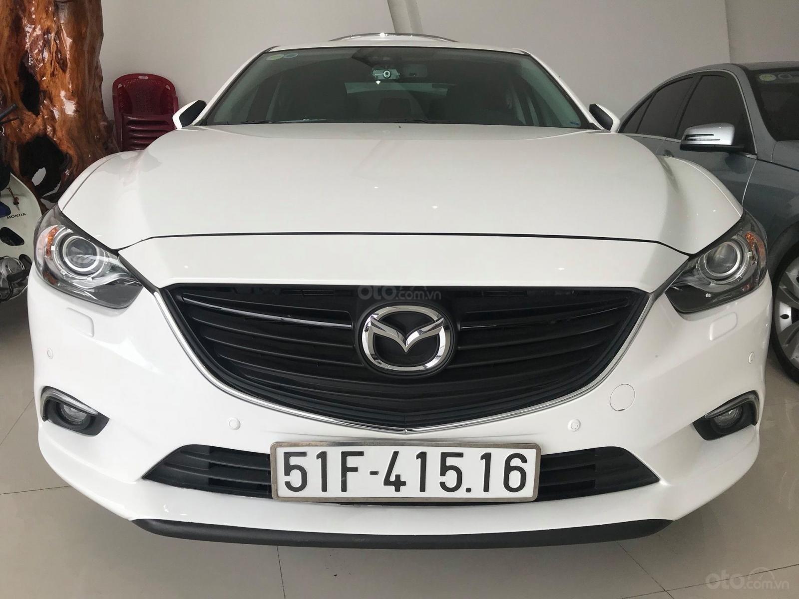 Cần bán gấp Mazda 6 LX đời 2016, màu trắng, giá 780tr-6