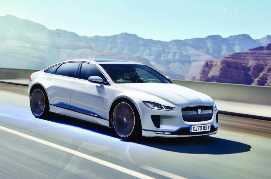 Jaguar XJ sedan thực chất sẽ lột xác thành xe điện
