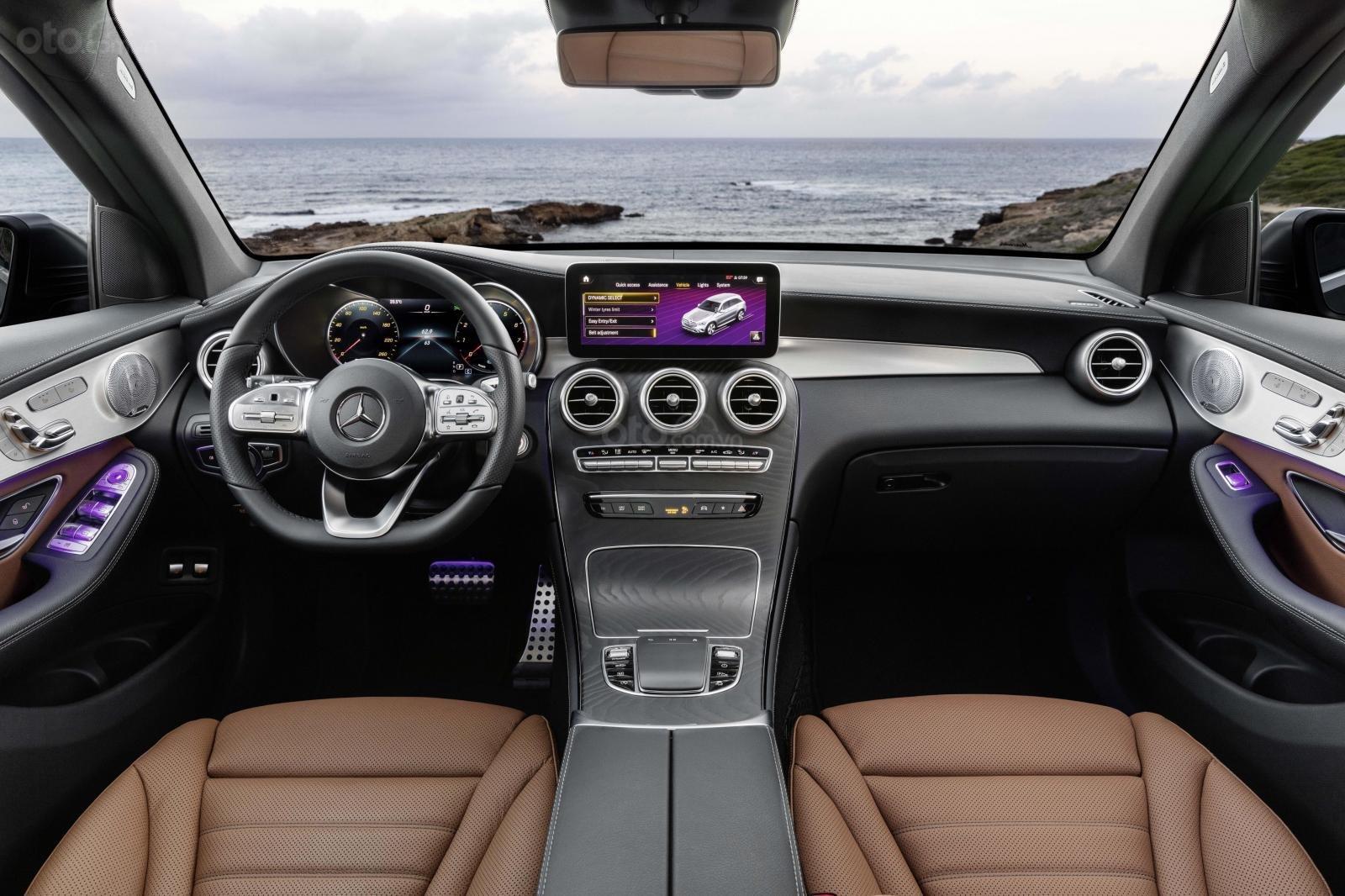 Mercedes-Benz GLC 2020 sở hữu tùy chọn cùng biến thể cao cấp