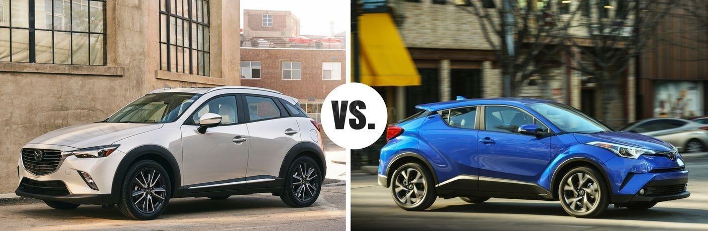 Ưu nhược điểm xe Toyota C-HR 2019 khi so với Mazda CX-3