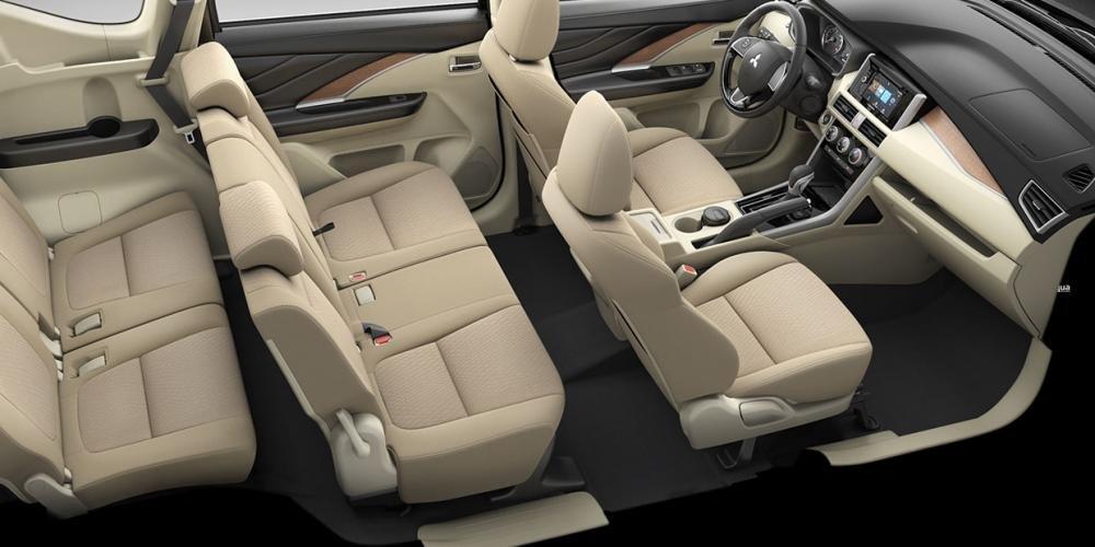 Khoang nội thất rộng rãi của Mitsubishi Xpander 2019