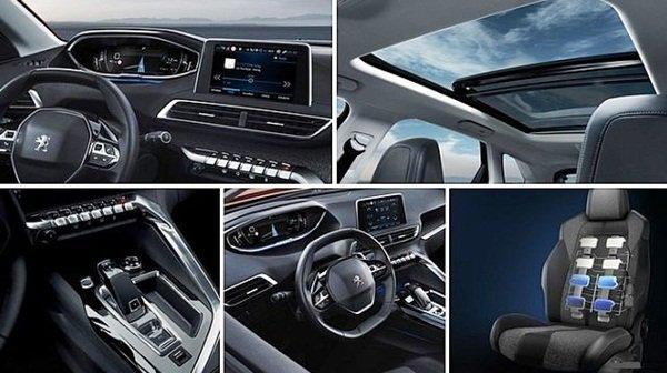 Trang thiết bị hiện đại trên Peugeot 3008 2019