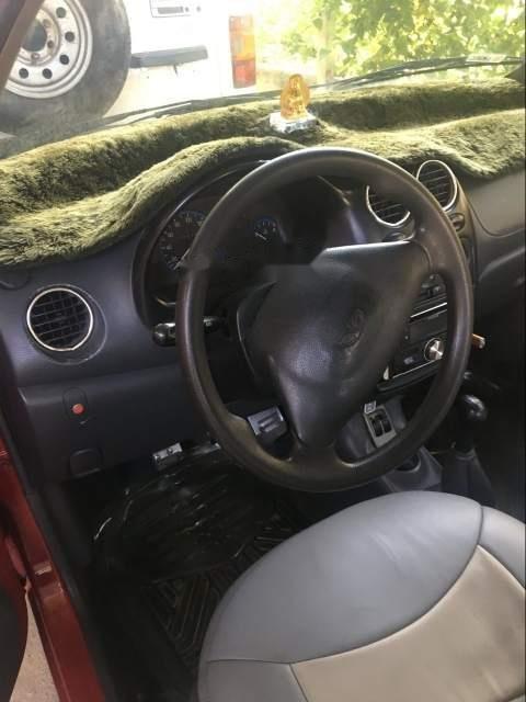 Gia đình bán xe Daewoo Matiz 2000, màu đỏ, xe nhập (4)