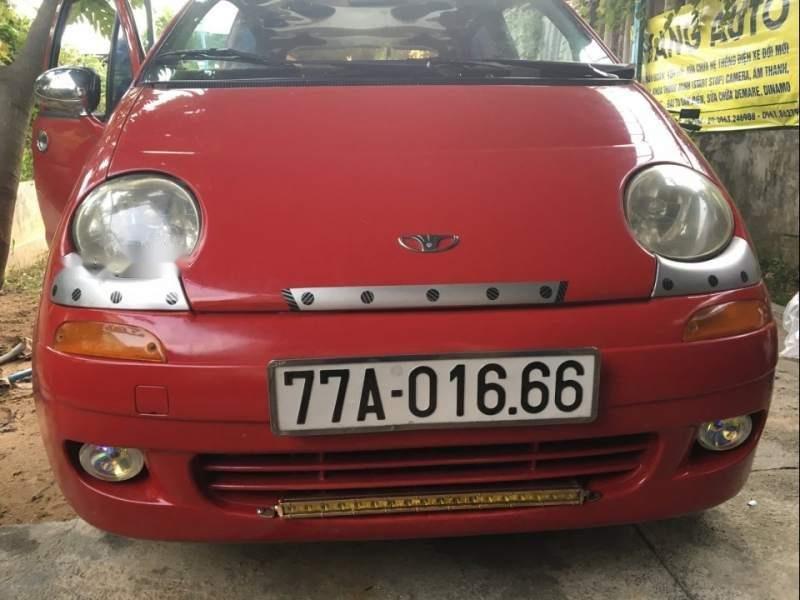 Gia đình bán xe Daewoo Matiz 2000, màu đỏ, xe nhập (1)
