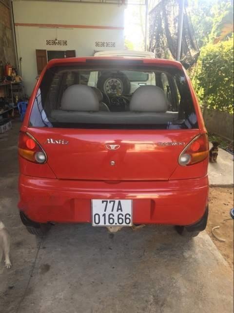 Gia đình bán xe Daewoo Matiz 2000, màu đỏ, xe nhập (3)