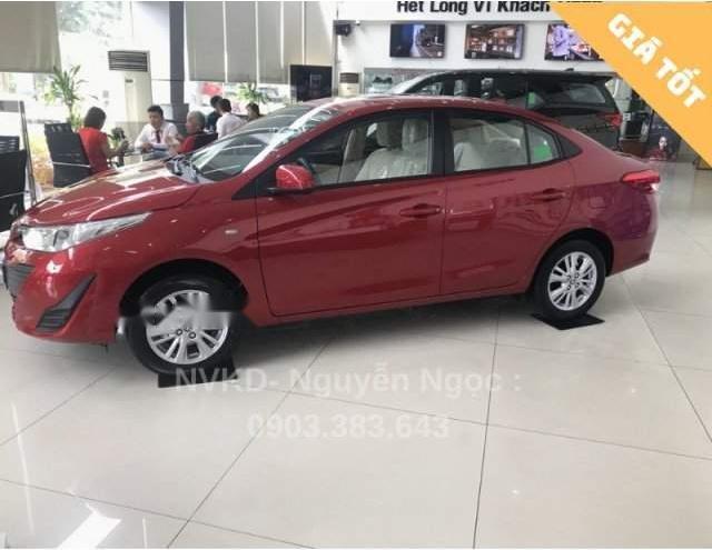 Cần bán xe Toyota Vios đời 2019, màu đỏ (4)
