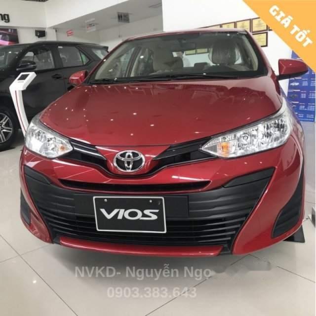 Cần bán xe Toyota Vios đời 2019, màu đỏ (1)