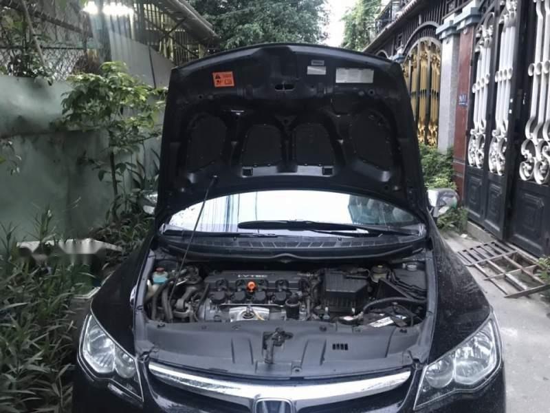 Bán Honda Civic đời 2009, màu đen chính chủ, giá 287tr (4)