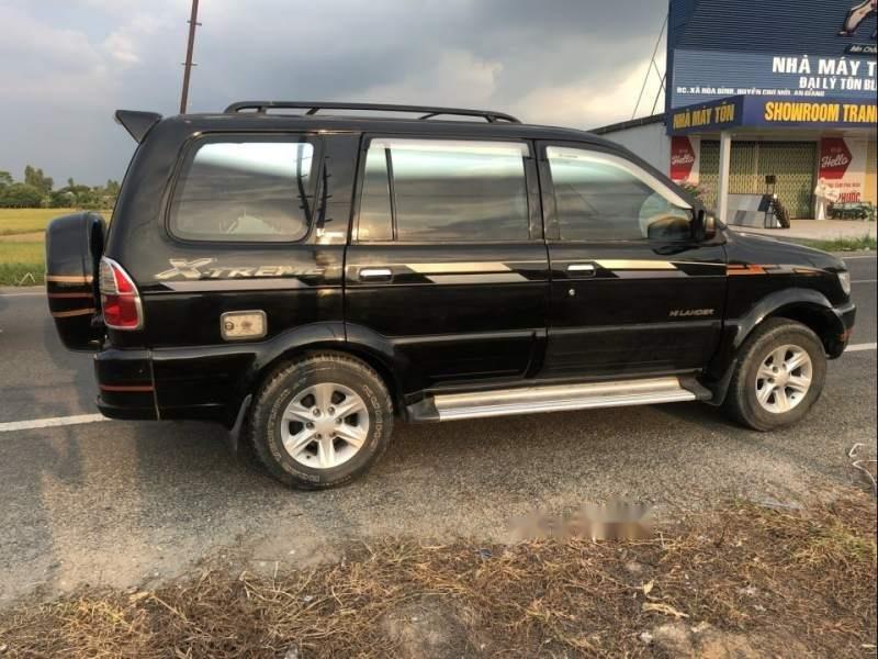Bán lại xe Isuzu Hi lander AT sản xuất năm 2004, màu đen xe gia đình (1)
