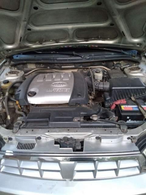 Bán xe Kia Spectra đời 2005, màu bạc, nhập khẩu (4)