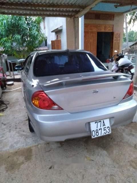 Bán xe Kia Spectra đời 2005, màu bạc, nhập khẩu (1)