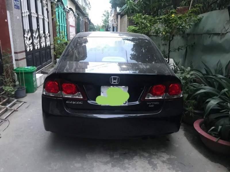 Bán Honda Civic đời 2009, màu đen chính chủ, giá 287tr (2)