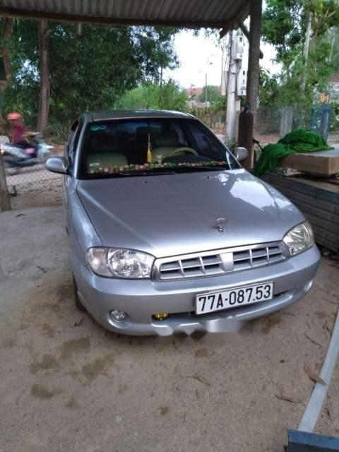 Bán xe Kia Spectra đời 2005, màu bạc, nhập khẩu (2)