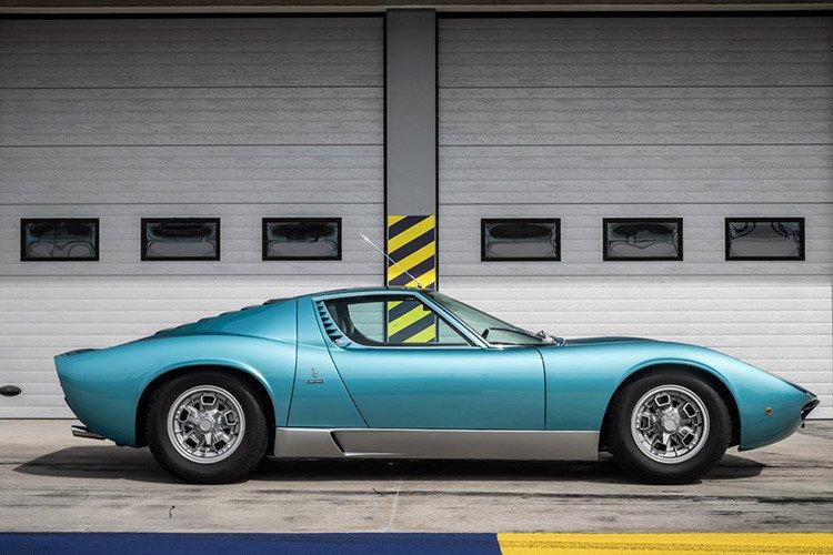 Lamborghini Miura 1971 được hồi sinh với vẻ đẹp vượt thời gian a2