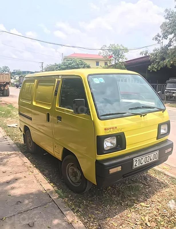 Cần bán xe Suzuki Blind Van đời 2000, màu vàng-1