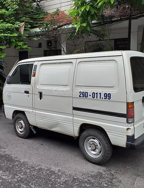 Cần bán xe Suzuki Super Carry Van năm sản xuất 2010, màu trắng, 175tr (2)