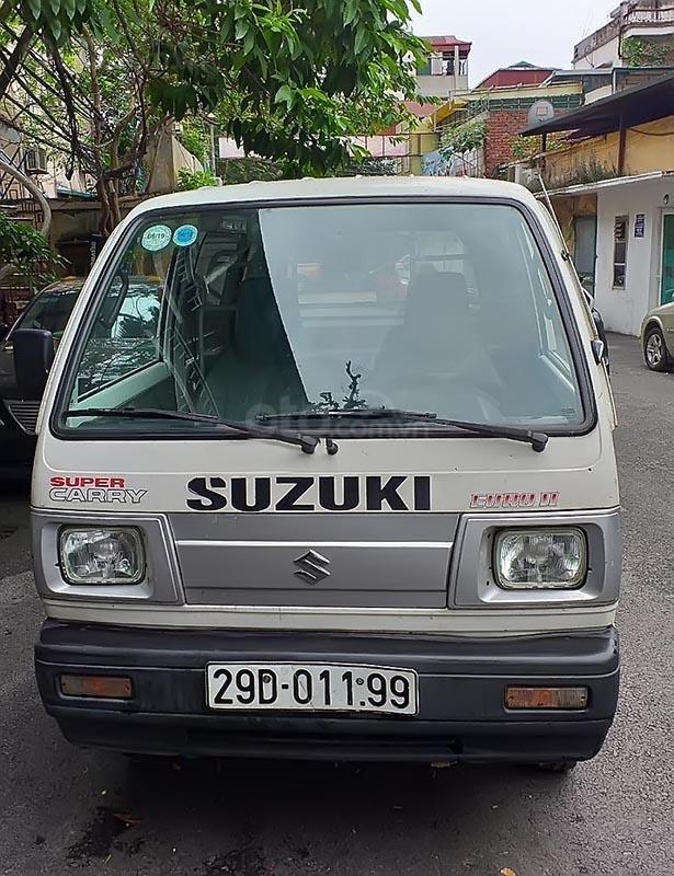 Cần bán xe Suzuki Super Carry Van năm sản xuất 2010, màu trắng, 175tr (1)