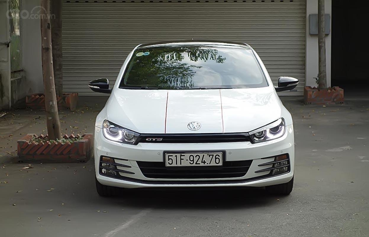 Cần bán Volkswagen Scirocco 2.0 AT đời 2016, màu trắng, nhập khẩu-0