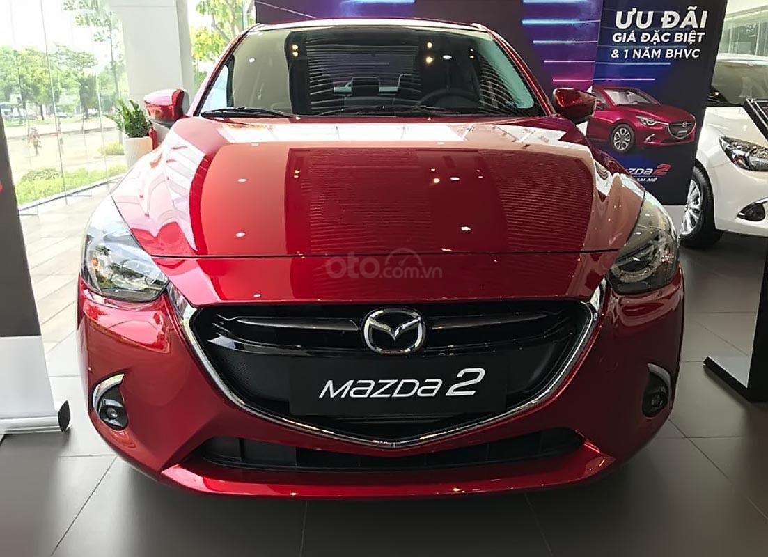 Bán Mazda 2 đời 2019, màu đỏ, nhập khẩu, giá 509tr-0