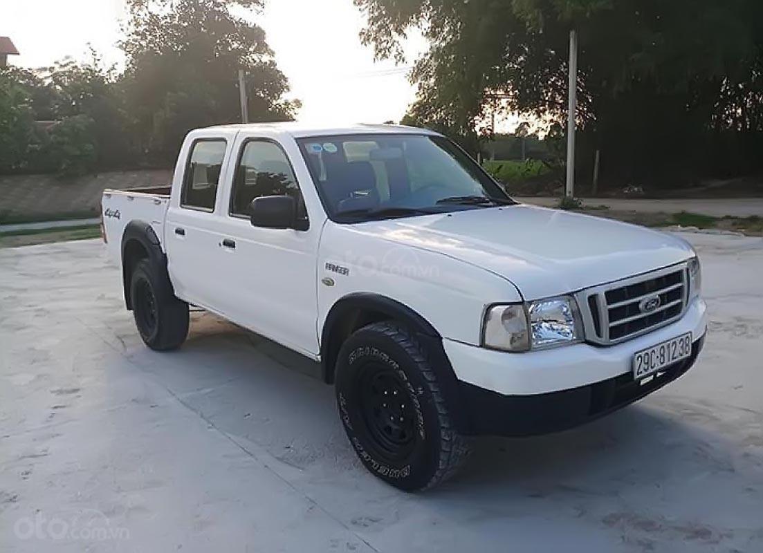 Bán Ford Ranger sản xuất 2006, màu trắng-0