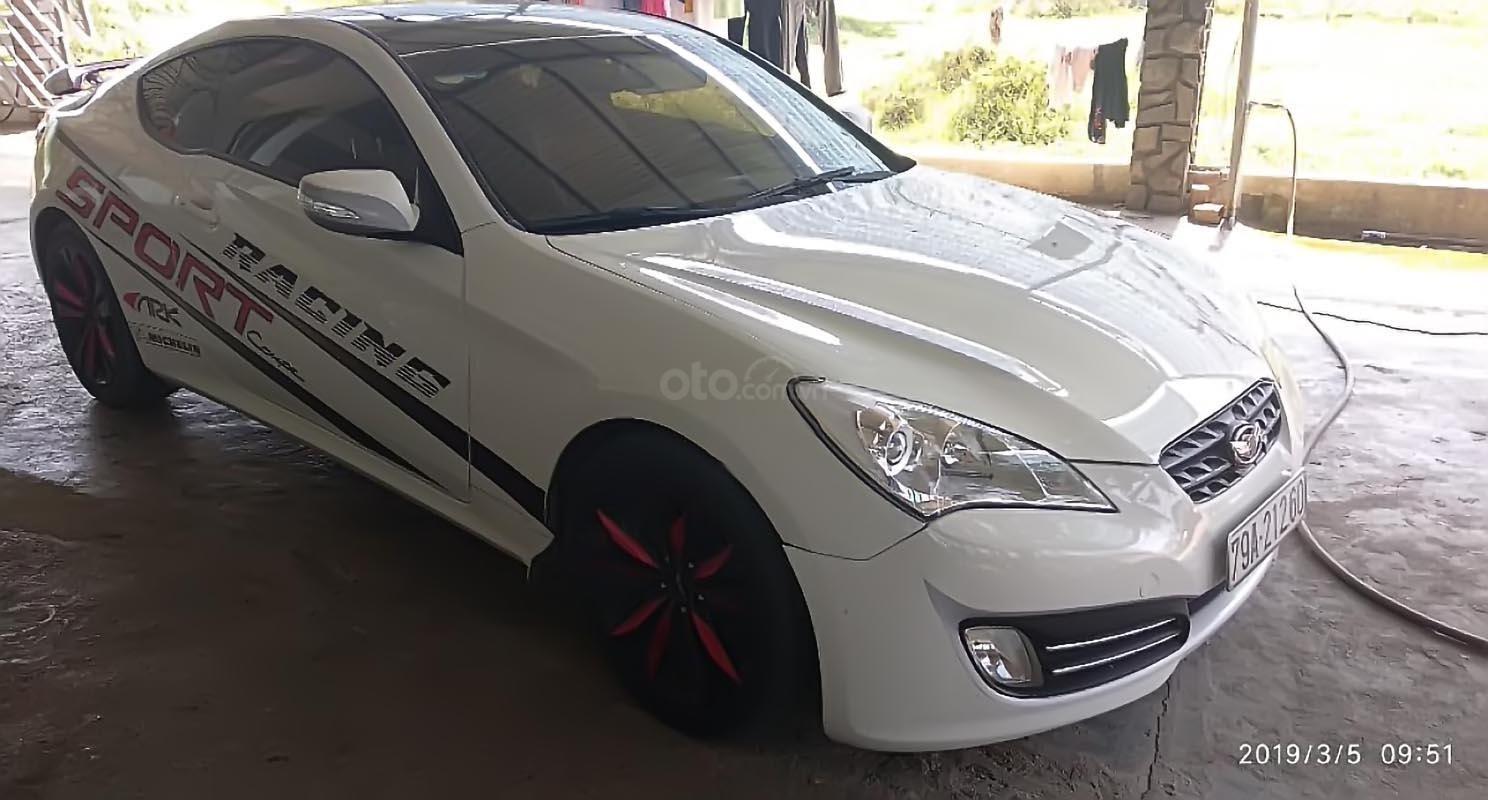 Cần bán xe Hyundai Genesis 2011, màu trắng, nhập khẩu-1