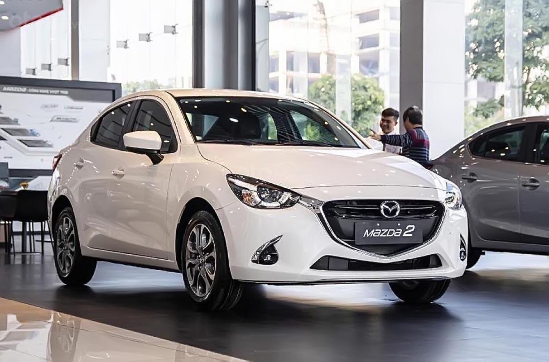 Bán xe Mazda 2 Premium sản xuất 2019, màu trắng, nhập khẩu Thái Lan, giá cạnh tranh-0