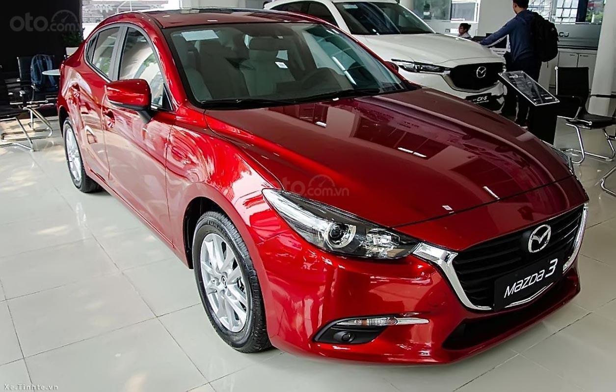 Bán ô tô Mazda 3 năm sản xuất 2019, màu đỏ-1