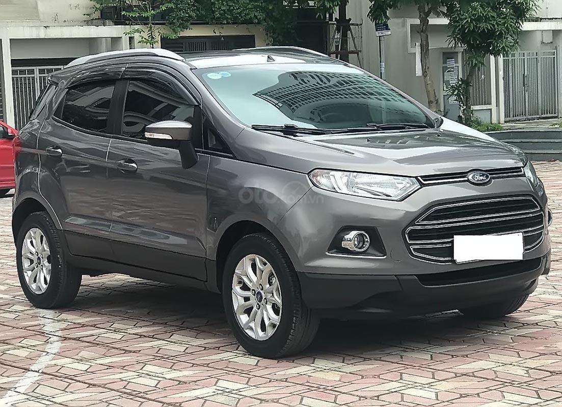 Cần bán Ford EcoSport Titanium 1.5L AT sản xuất năm 2016, màu nâu, giá chỉ 519 triệu-0