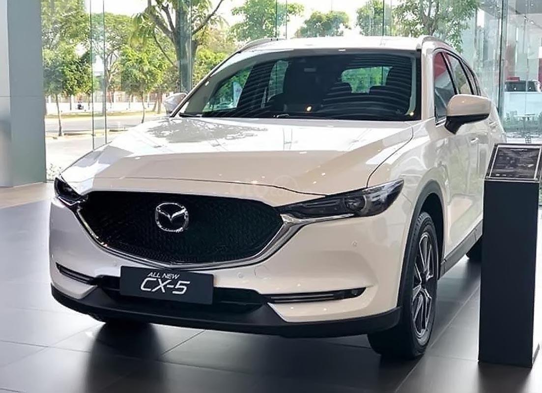 Bán Mazda CX 5 2.0 AT 2019, màu trắng-0