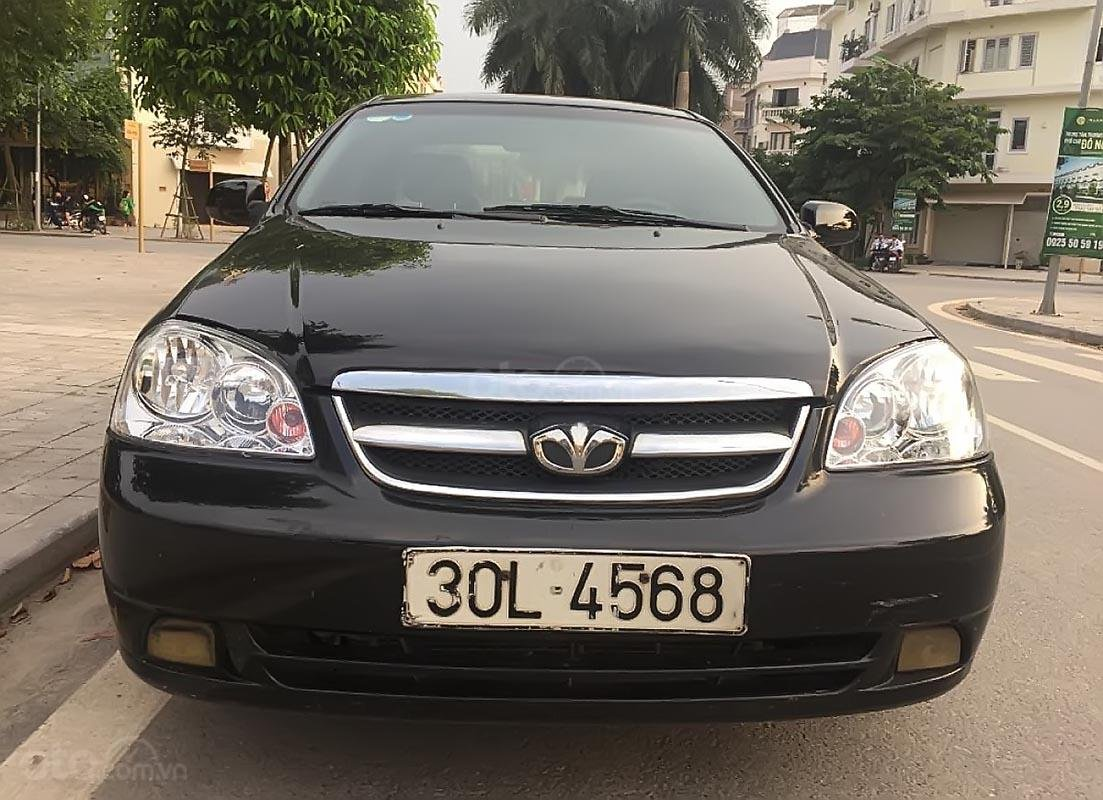 Cần bán lại xe Daewoo Lacetti EX 1.6 MT sản xuất 2008, màu đen chính chủ-0