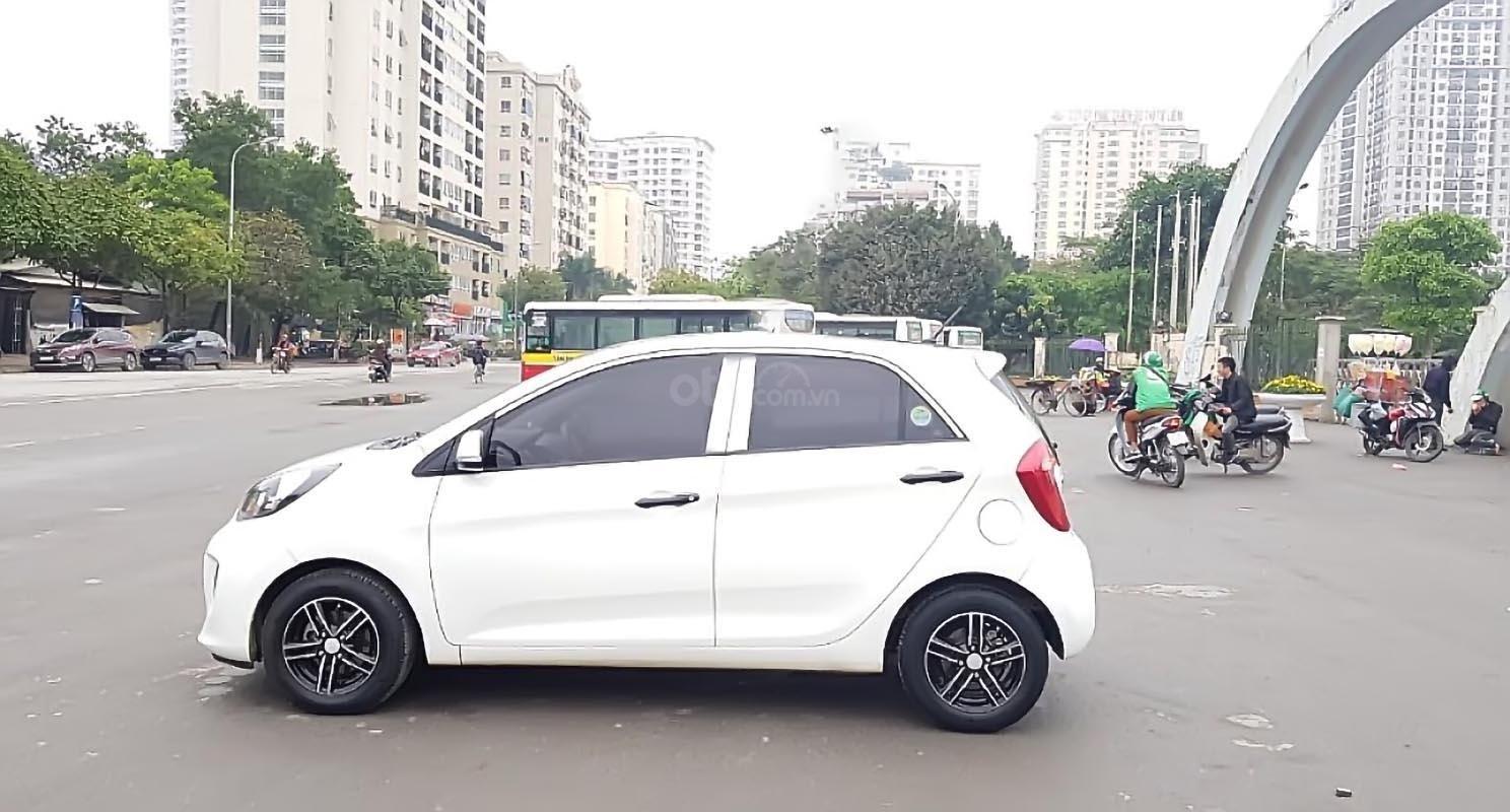 Bán xe Kia Morning Van 1.0 AT sản xuất 2016, màu trắng, nhập khẩu nguyên chiếc, giá tốt-0