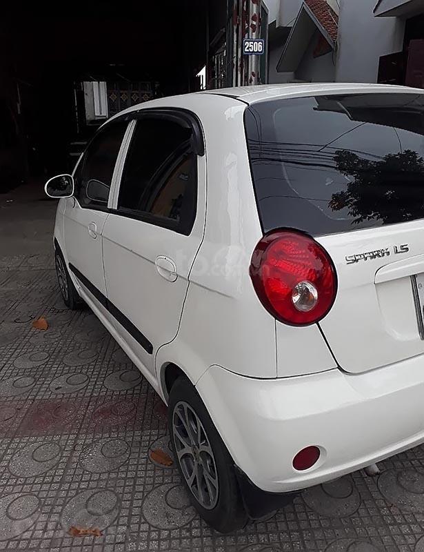 Bán ô tô Chevrolet Spark sản xuất 2011, màu trắng-1