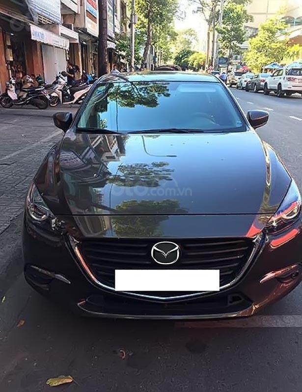 Bán ô tô Mazda 3 1.5 AT sản xuất năm 2017, màu nâu-0