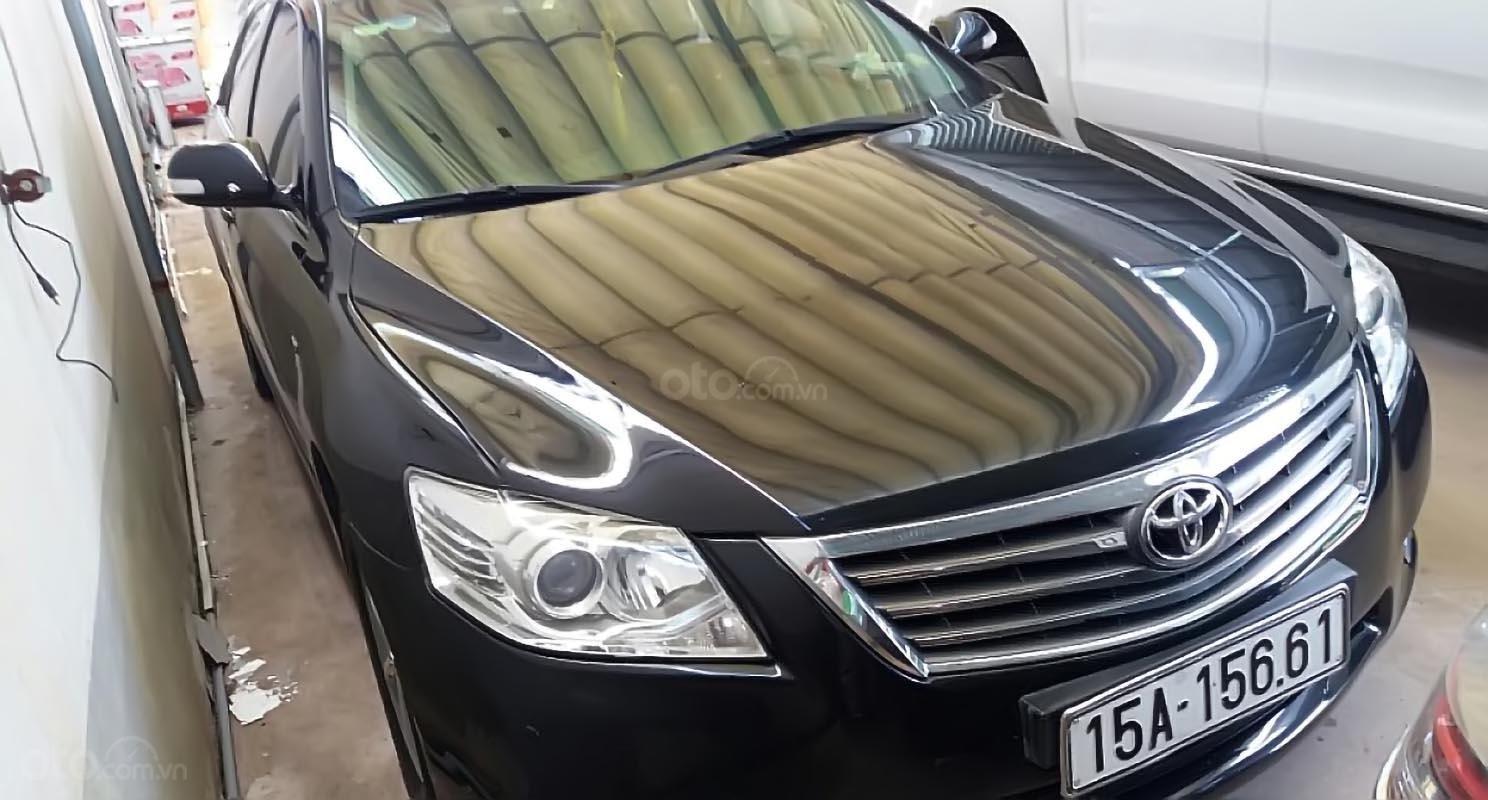 Bán Toyota Camry 2.4G sản xuất năm 2010, màu đen chính chủ, giá chỉ 580 triệu-0