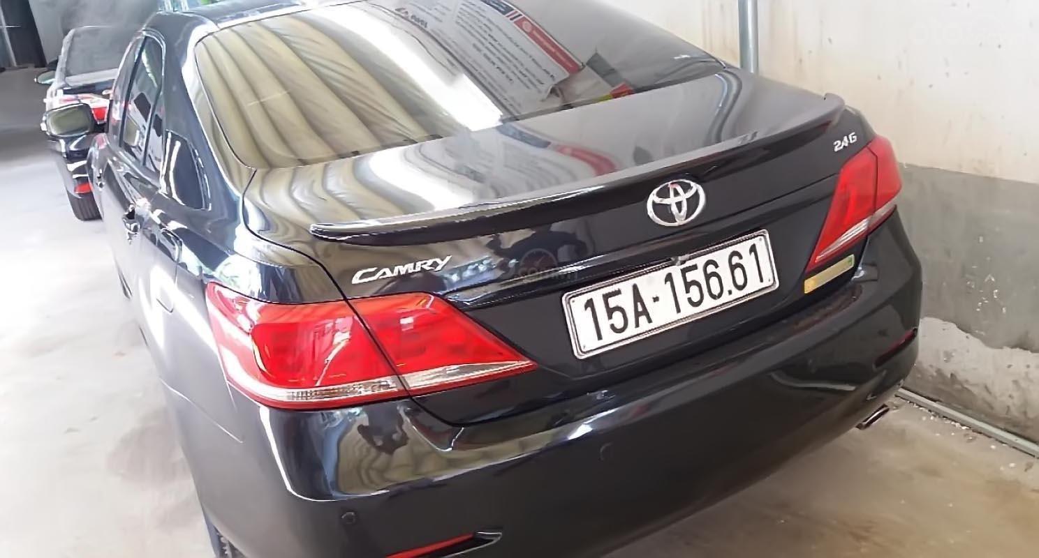 Bán Toyota Camry 2.4G sản xuất năm 2010, màu đen chính chủ, giá chỉ 580 triệu-1