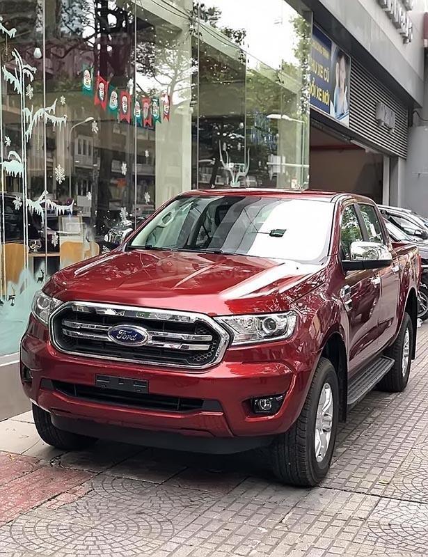 Bán xe Ford Ranger XLT 2.2L 4x4 AT đời 2019, màu đỏ, xe nhập, 779 triệu-0