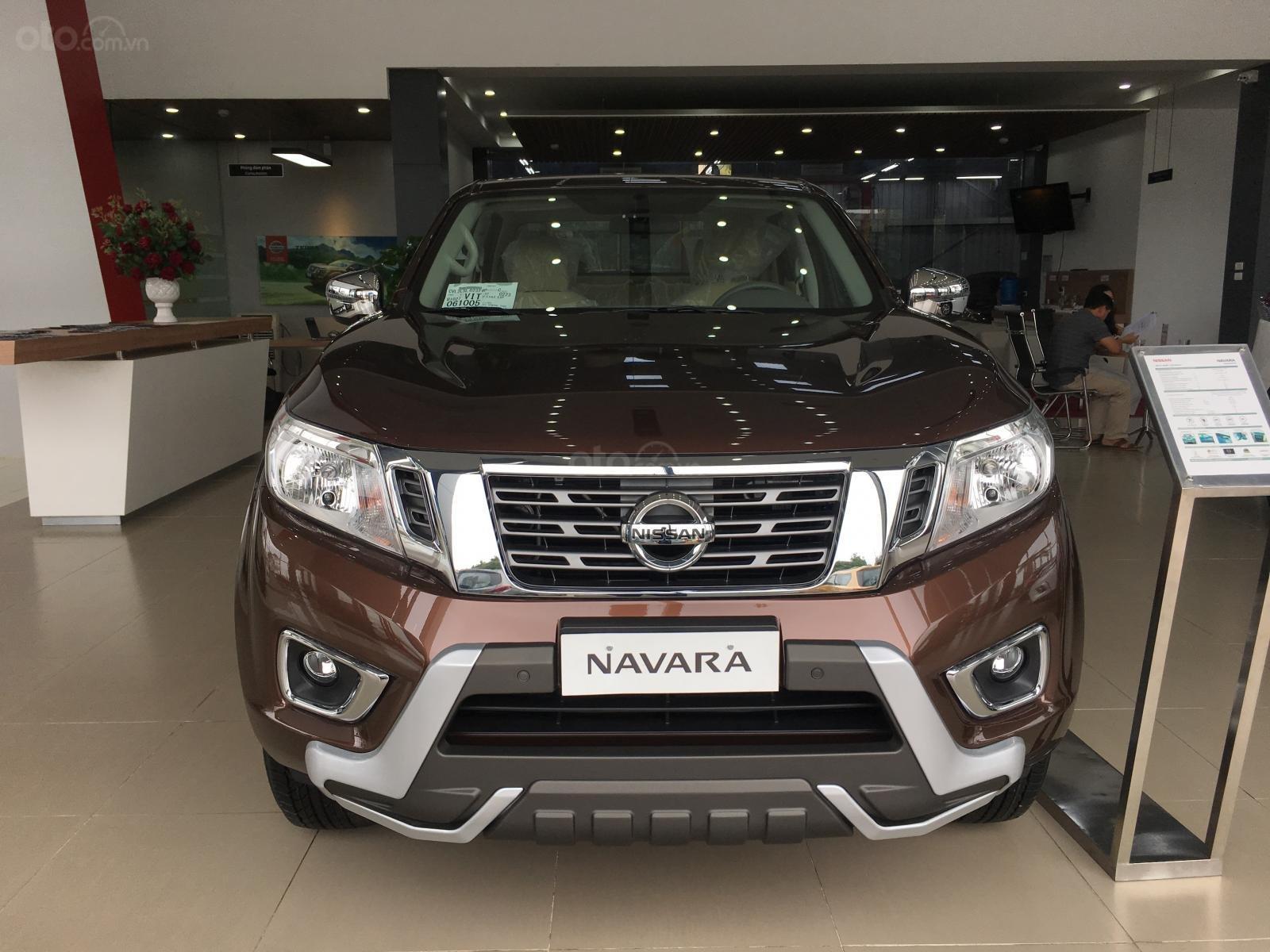 Bán xe Nissan Navara EL sản xuất 2019, màu nâu, xe nhập, giá tốt, nhiều khuyến mại (3)