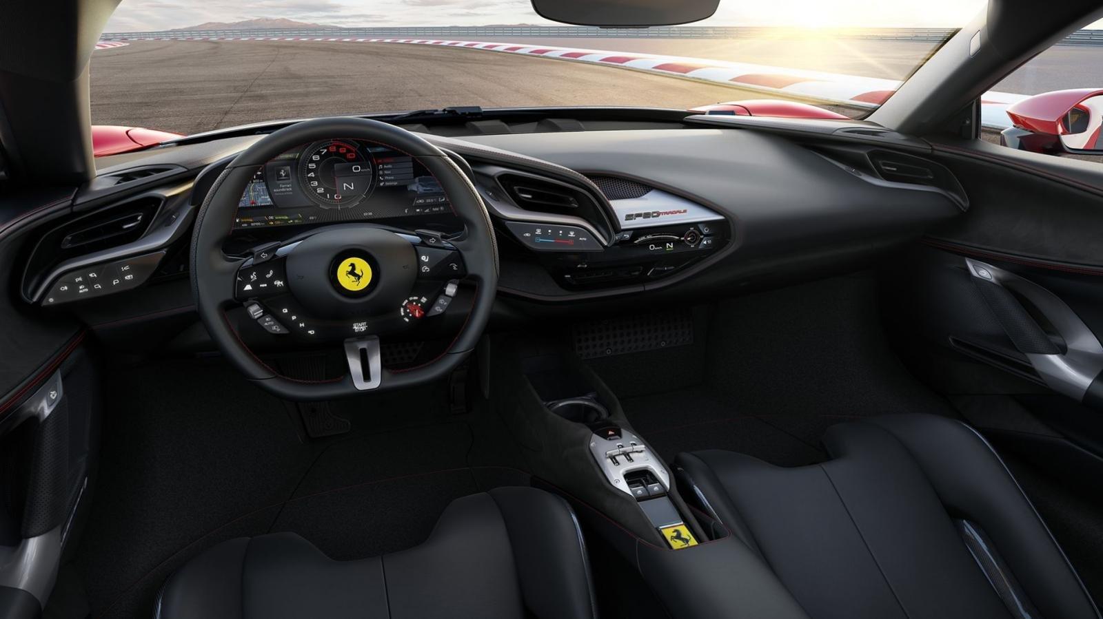 Ferrari trình làng tân binh hybrid 986 mã lực  11