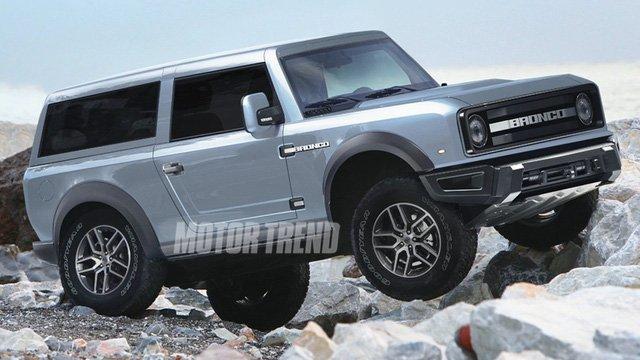 Điểm qua những nét hấp dẫn trên Ford Bronco sắp ra mắt 3