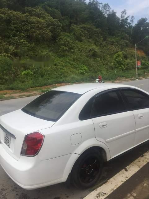 Bán lại xe Daewoo Lacetti sản xuất 2005, màu trắng, xe nhập xe gia đình (4)