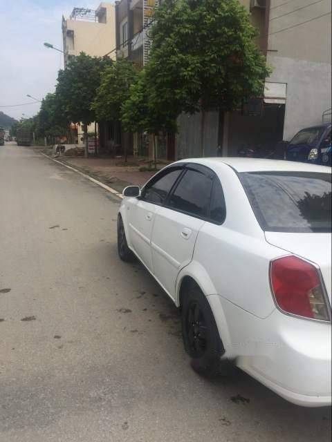Bán lại xe Daewoo Lacetti sản xuất 2005, màu trắng, xe nhập xe gia đình (5)