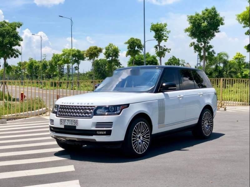 Cần bán xe LandRover Range Rover HSE sản xuất năm 2015, màu trắng (1)