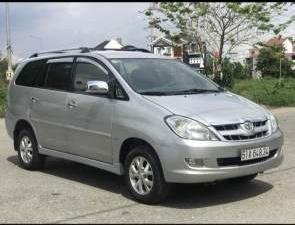Bán ô tô Toyota Innova đời 2006, màu bạc, nhập khẩu nguyên chiếc xe gia đình (1)