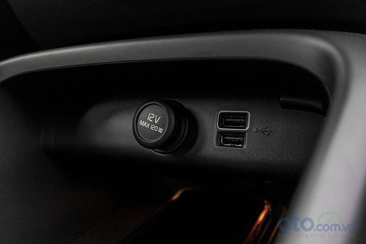 Hai công kết nối USB trên Volvo XC40 2019.