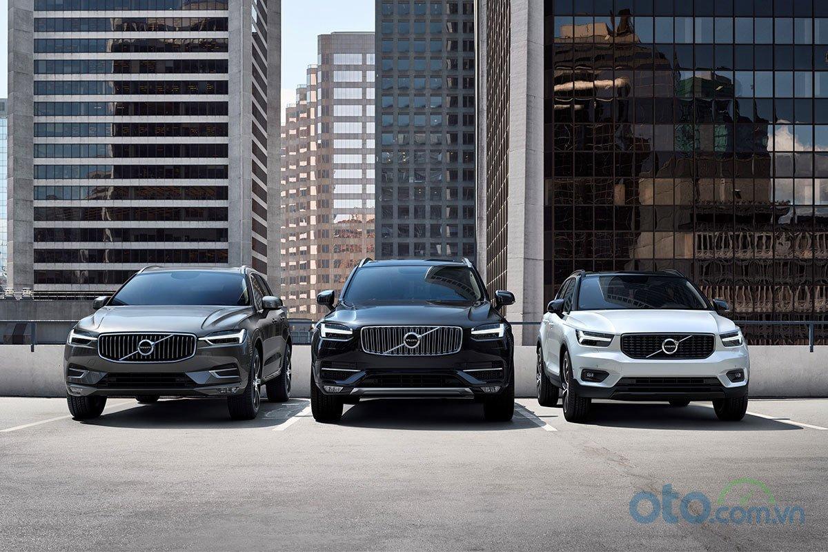 XC40 là em út trong gia đình SUV của Volvo ở thời điểm hiện tại.
