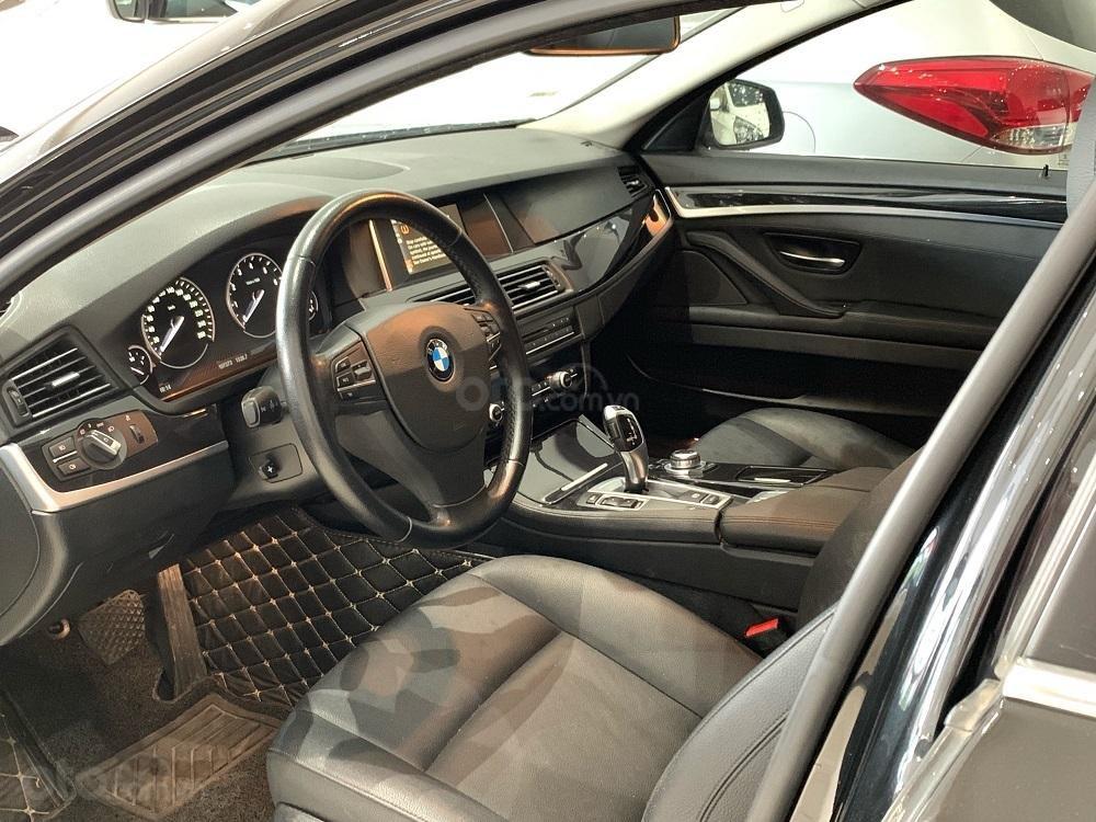 HCM: BMW 520i, màu đen, sản xuất 2014 (12)