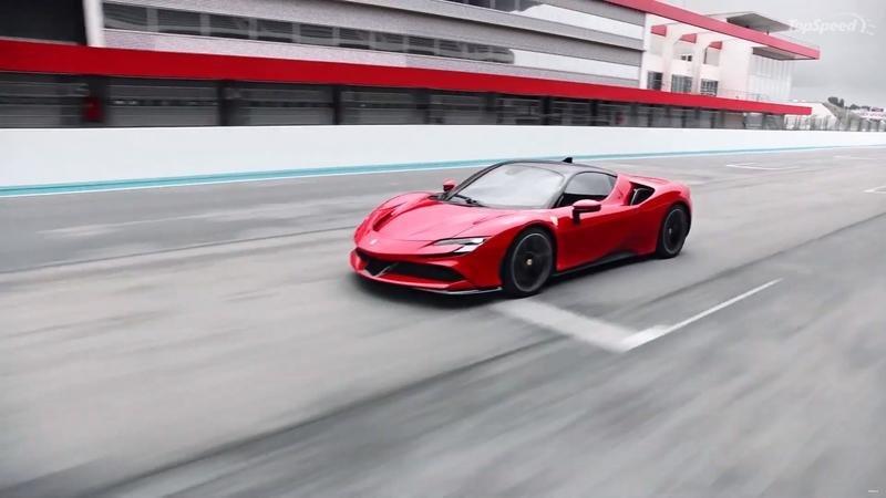Khám phá siêu xe Ferrari SF90 Stradale: Sức hấp dẫn không nằm ở con số 1000 mã lực! 1